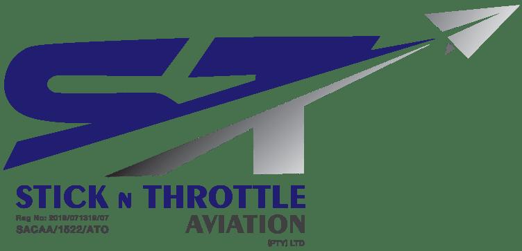 Stick n Throttle Aviation Logo